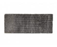 Alfombra de pasillo CROISILLE - Polipropileno - 80x200 cm - Gris