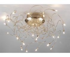 Lámpara de techo CELESTE - Color dorado 60x50 cm