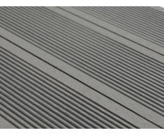 Lote de 30 láminas para terraza TERAE II - Pack 9.60m² - Gris