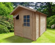 Sauna de uso exterior 3/4 plazas HELSINKI II - 2 piezas