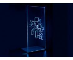 Mampara de ducha BELLA con LEDs - 120x200 cm