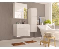 Conjunto SOLENE - muebles para baño - Lacado blanco