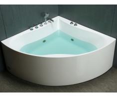 Bañera rinconera AGYNESS - 263 litros - 135 x 135 x Altura 57cm