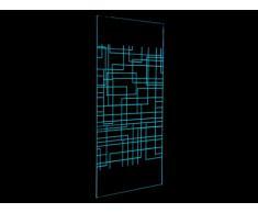 Mampara de ducha PAMELA con LEDs - 120x200 cm