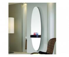 REBAJAS - Espejo SHYNA con estante - Altura 150 cm - Negro
