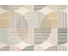 Alfombra de estilo contemporáneo LEIRA - 100% polipropileno - 120x170cm - Multicolor