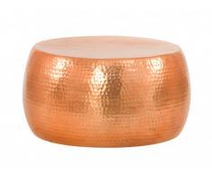 Mesa de centro SCINTILLANTE - Aluminio - Color cobre