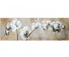 Cuadro ORCHID - 50x150 cm - Pintura al óleo