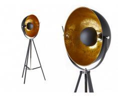 Lámpara de pie MOVIE - Altura 166 cm - Color dorado