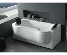 Bañera de hidromasaje de diseño ONDINE - 1 a 2 plazas - 6 chorros