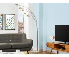 Lámpara de pie STELLA - Cromo - 5 luces - Alt. 210 cm