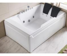 Bañera de hidromasaje THALASSA - 2 plazas - 182 x 122 x Alto 64cm
