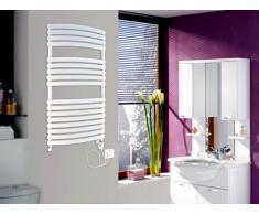 Radiador toallero mixto LIGNO - Blanco - 120x60 cm