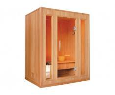 Sauna Tradicional Finlandesa 3 plazas LOFOTEN II - Gama Prestige