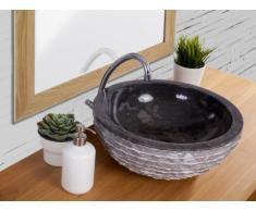 Lavabo de mármol MUKI - Color gris