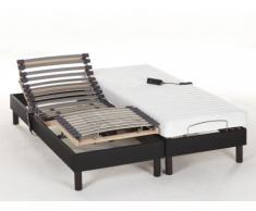 Cama articulada eléctrica con colchón de látex MAORI de DREAMEA - 2x70x190 cm
