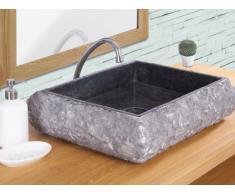Lavabo de mármol RIVER - Color gris