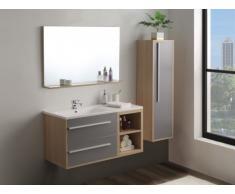 Conjunto de baño JASMINE - muebles de baño - Madera gris