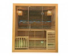 Sauna tradicional de 3/4 plazas Ancho 180 x l140 x Alt. 200cm OCTABIUS - 6000W