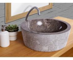 Lavabo de mármol VOLCA - Color gris