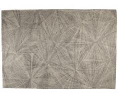 Alfombra PIOTR - 100% Lana handtufted - 160x230 cm - Gris