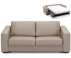 Sofá cama 3 plazas de tela VOLONTA II - Beige