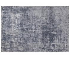 Alfombra de estilo contemporáneo SHEEN - polipropileno y algodón - 160x230 cm - Gris