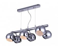 Lámpara de techo RICHMOND - Metal cromado
