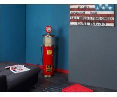 Lámpara de decoración y torre para CD ELDORADO - Mdf - Rojo