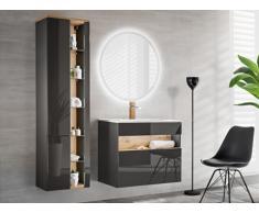 Conjunto LUNA - muebles de baño - gris