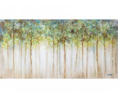 Cuadro pintado al óleo SAULE - 70x140cm