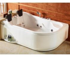 Bañera de hidromasaje RAFINA - 2 plazas - 181 x 123 x Alto 70cm