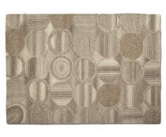 Alfombra CIRCA - 100% lana tejida a mano - 160x230 cm