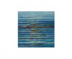 Cuadro pintado al óleo MAREAL - 100x100cm