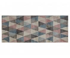 Alfombra de pasillo SKANDI - Polipropileno - 80x200 cm - Multicolor