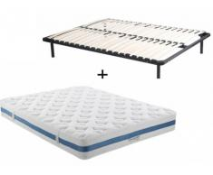 PACK Colchón de 850 muelles ensacados AIRPLAY de DREAMEA PLAY + Somier de láminas - 140x190 cm