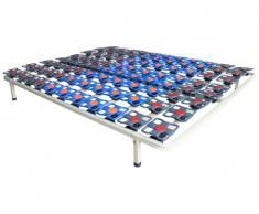 Somier de láminas con suspensión multiterminal de DREAMEA PLAY - 140x190 cm