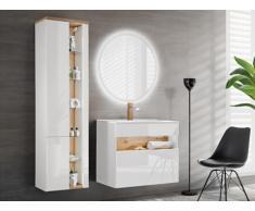 Conjunto LUNA - muebles de baño - blanco