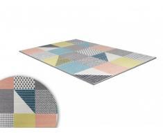 Alfombra CASTIEL - polipropileno - 160x230cm - Multicolor