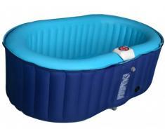 Jacuzzi hinchable ovalado B-LUCKY - 2 personas - Azul