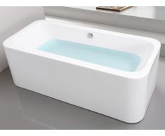 Bañera exenta KASIA de diseño - 1 plaza - 80x170x60cm - 215L