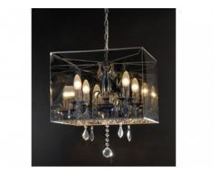 Lámpara de techo BOLERO - Colgantes de cristal - Altura 48 cm