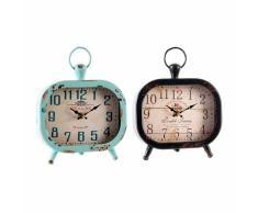 Conjunto de dos relojes leo