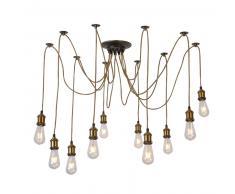 Lámpara de techo bobbie bronce