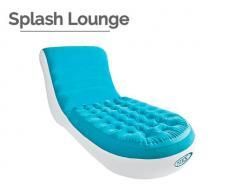 Intex Sillón hinchable cama Splash Lounge de INTEX