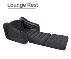 Intex Sillón hinchable cama Lounge Rest de INTEX