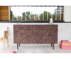 Cómoda de madera de estilo vintage Balkis