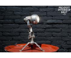 Lampara estilo vintage Spoutnik de latón