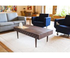 Mesa de centro vintage de madera Balkis
