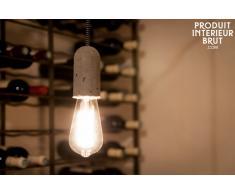 Lámpara colgante de estilo vintage de cemento NUD